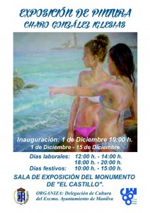art exhibition at El Castillo de La Duquesa, Manilva, Spain