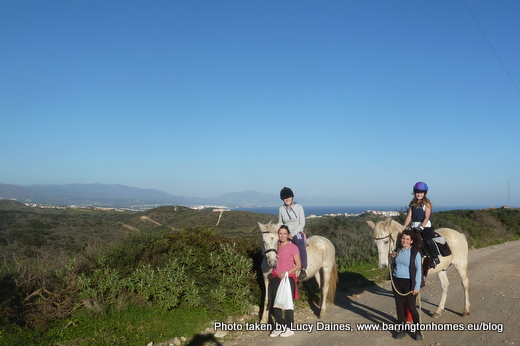 Horse riding in Manilva