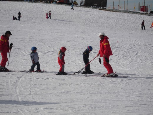 Ski lessons in Sierra Nevada, Spain