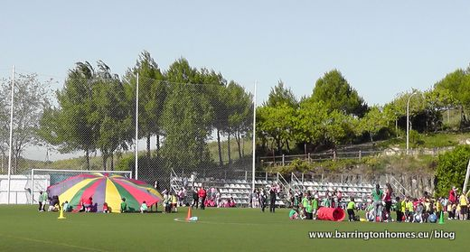 Sports day in Manilva