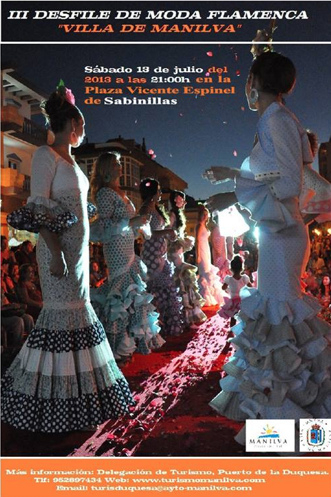 Flamenco Fashion Show in Sabinillas Manilva