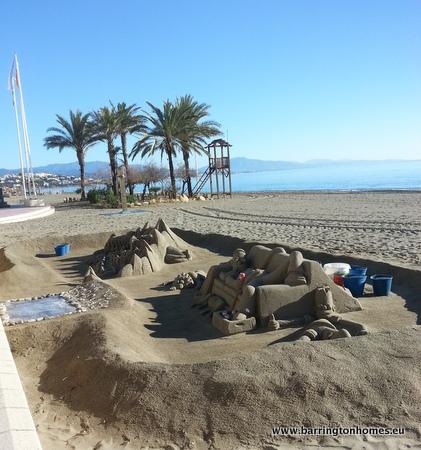 Sandcastle course sabinillas