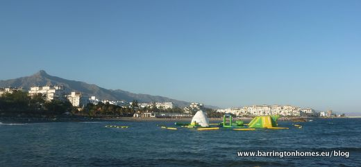 Costa Water Park like Total Wipeout Near Puerto Banus