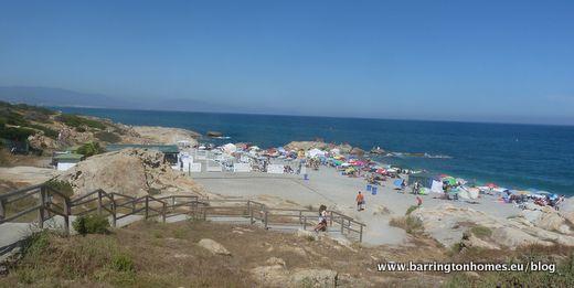 Punta Chullera Beach Manilva