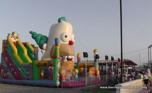 Bouncy Castle fun area for children in La Duquesa
