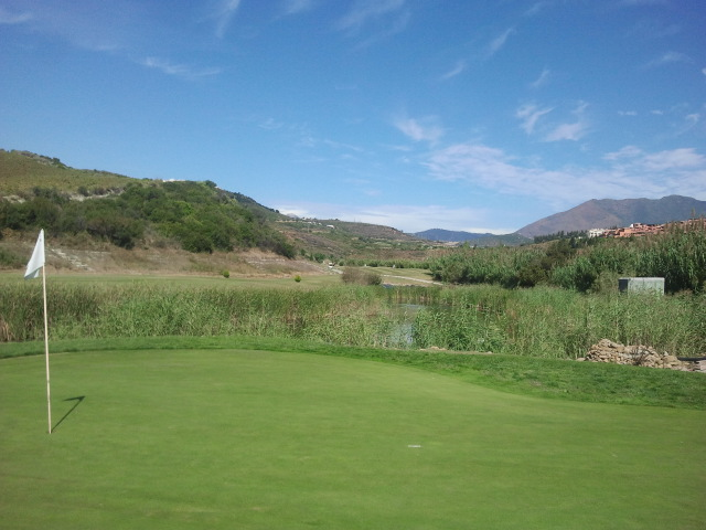 Casares Costa Golf 5th Hole
