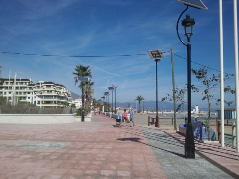 Promenade by El Castillo