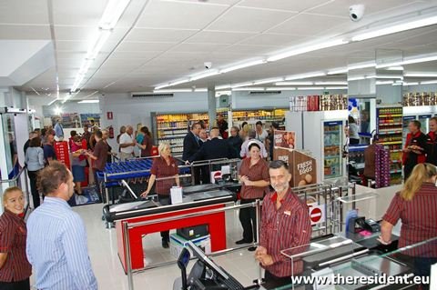 Iceland Store Grand Opening
