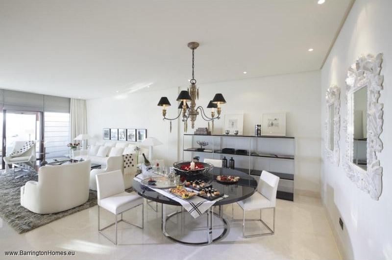 1, 2 & 3 Bedroom Apartments, Doncella Beach, Estepona. Living area, Doncella Beach, Estepona