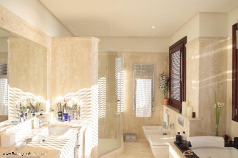 1, 2 & 3 Bedroom Apartments, Doncella Beach, Estepona. Bathroom, Doncella Beach, Estepona