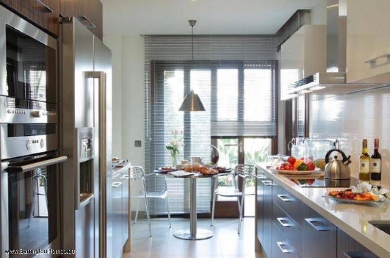 1, 2 & 3 Bedroom Apartments, Doncella Beach, Estepona. Kitchen, Doncella Beach, Estepona