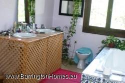 Traditional bathroom, Arquita, Casares