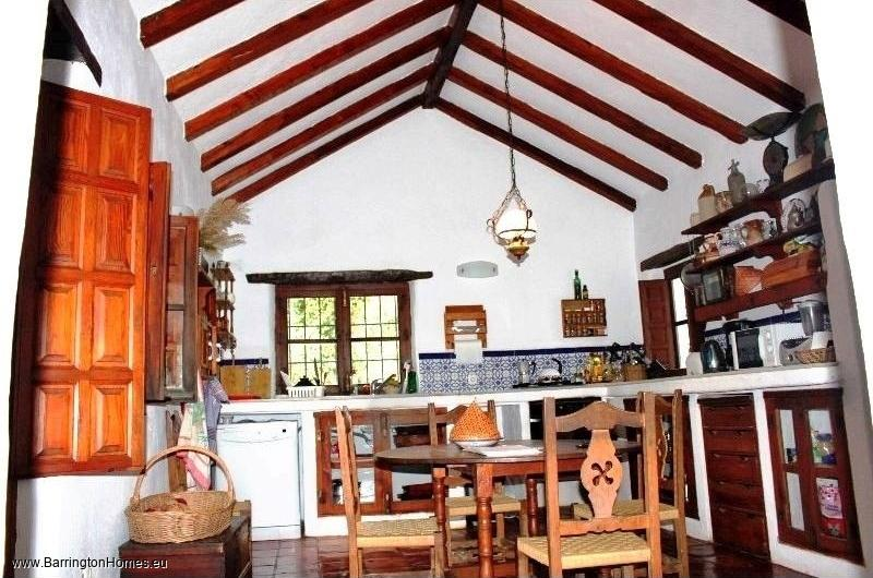 4 Bedroom Villa, Casares. Kitchen, Casares Finca