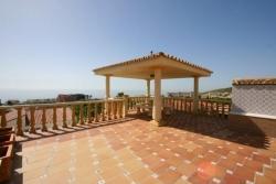Roof terrace, Villa Vercana, Jardin tropical, Duquesa