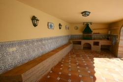 BBQ area, Villa Vercana, Jardin Tropical, Duquesa