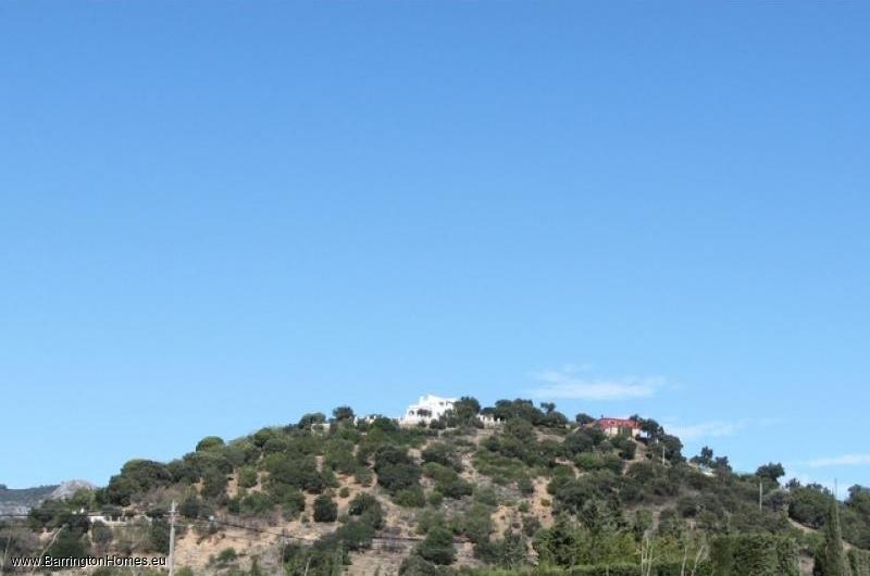 5 Bedroom Finca, Casares. View of finca