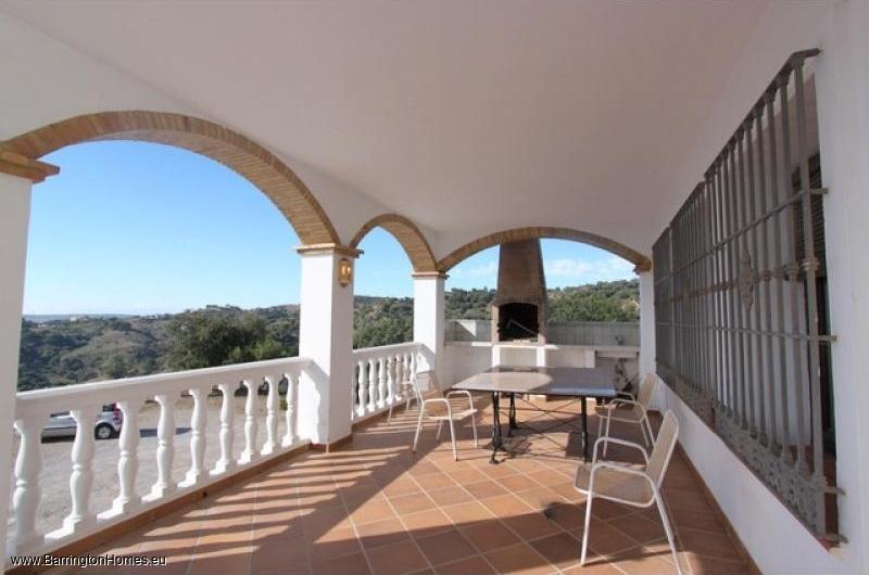 5 Bedroom Finca, Casares. Terrace
