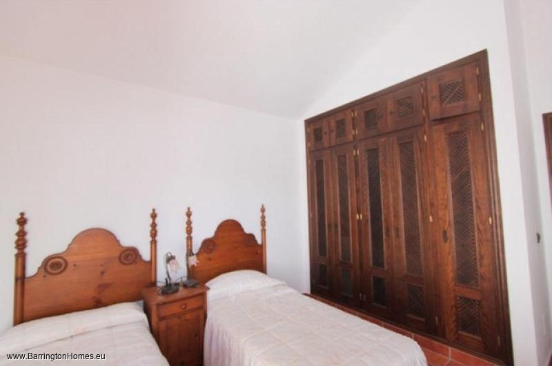 5 Bedroom Finca, Casares. One of the 3 bedrooms