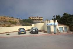 Parking area, Punta Chullera, Manilva