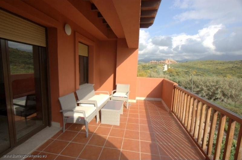 3 Bedroom Penthouse, Costa Galera, Estepona. Terrace, Costa Galera