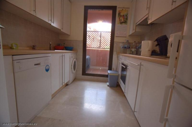 3 Bedroom Penthouse, Costa Galera, Estepona. Kitchen, Costa Galera