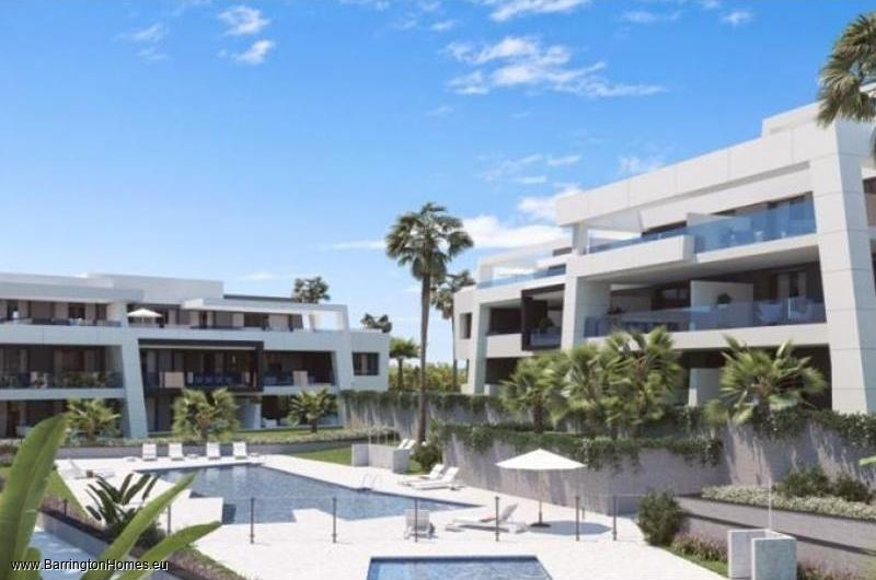 2,3 & 4 Bedroom Apartments, Vanian Gardens, Estepona.