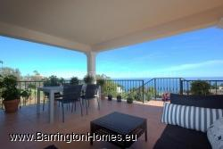 Partial Covered Terrace Overlooking the Coast towards Estepona and Beyond