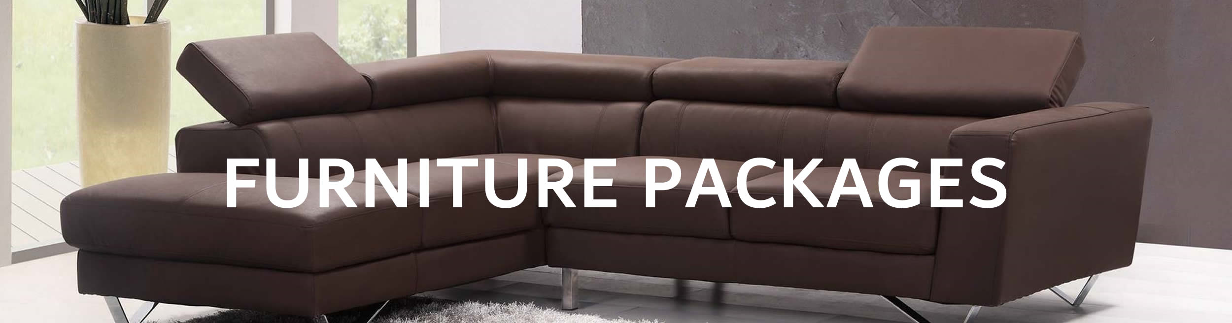 Furniture packages banner