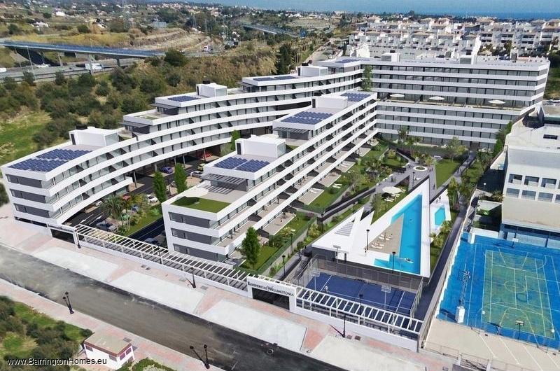 1,2,3 & 4 Bedroom Apartments, Wellingtonia, Estepona.
