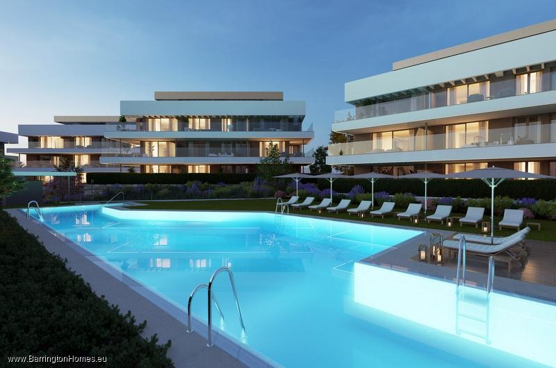2 & 3 Bedroom Luxury Apartments, Cancelada, Estepona.